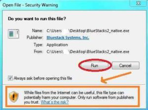 click-run-blue-stack-app-player-open-security-warning-300x223