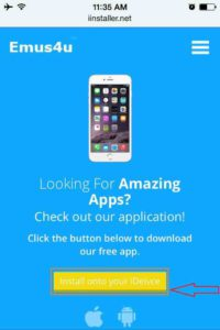 Click-on-Emus4u-Install-onto-your-Device-iPhone-iPad-iPod-Touch